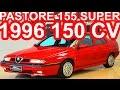 PASTORE Alfa Romeo 155 Super 1996 Vermelho MT5 FWD 2.0 16v Twin Spark 150 cv 18,9 mkgf #AlfaRomeo