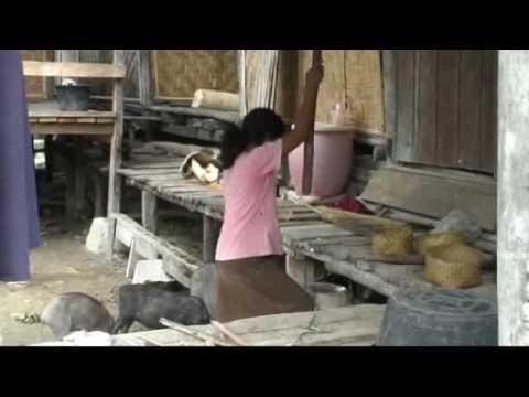 INDONESIA SUMBA ISLAND EAST VILLAGES
