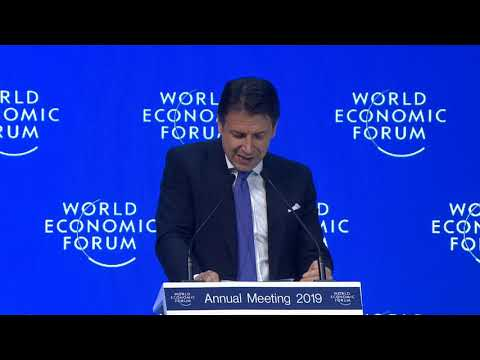 Davos 2019 - Special Address by Giuseppe Conte, Prime Minister of Italy