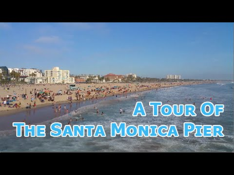 A Tour Of The Santa Monica Pier in LA!