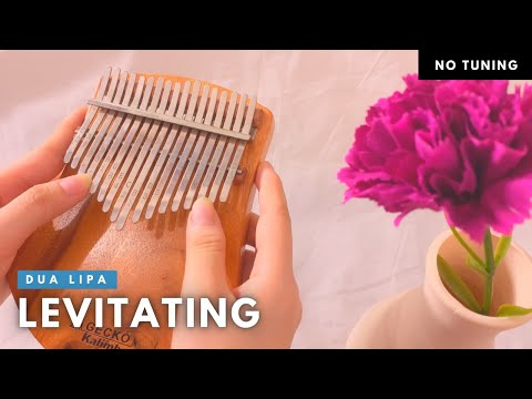 Levitating – Dua Lipa (Kalimba Cover With Tabs) by My Spring Lullaby
