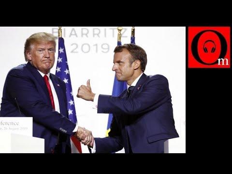 Трамп устроил истерику на саммите большой семерки в Биаррице