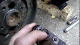 замена спускного клапана тормозного цилиндра