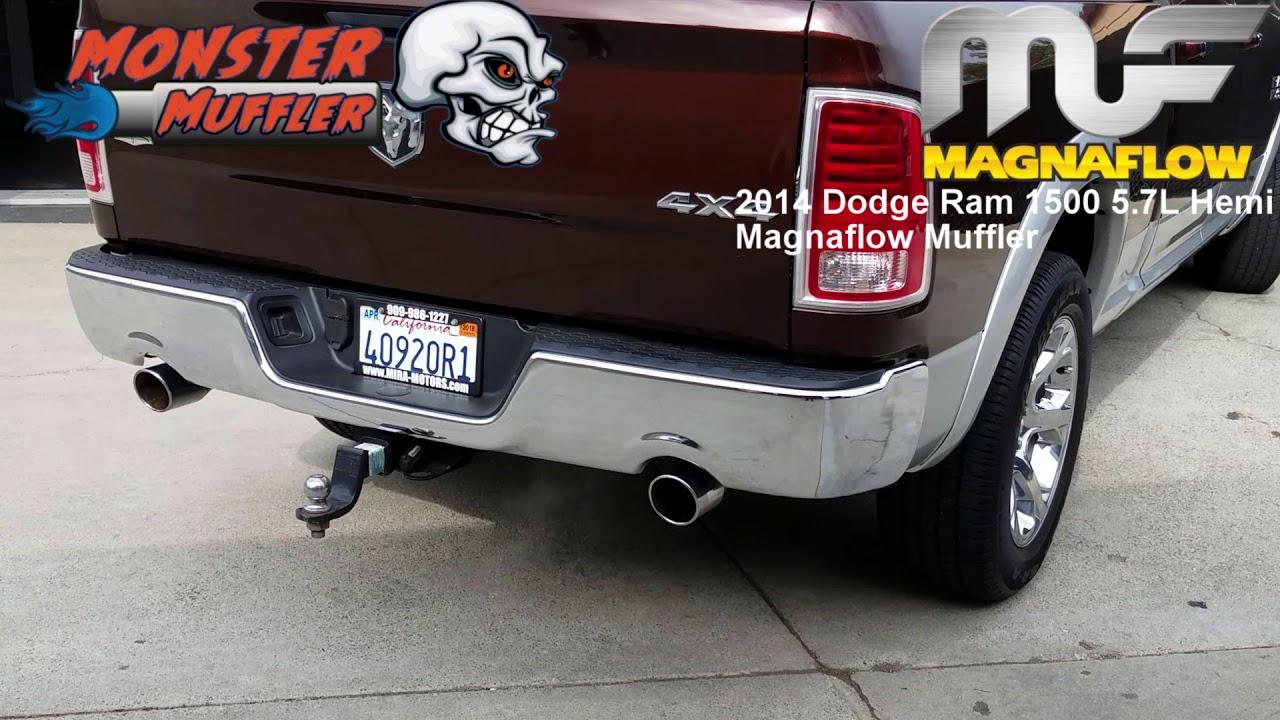 2014 dodge ram 1500 magnaflow exhaust