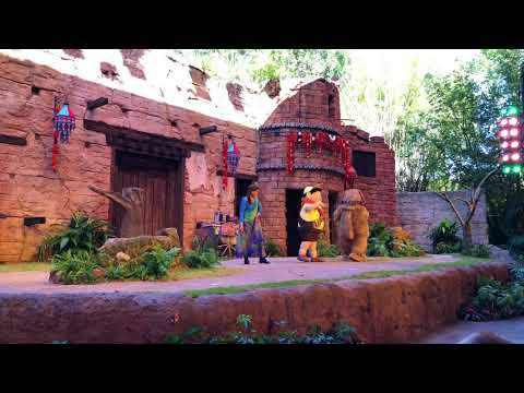UP! A Great Bird Adventure Soft Opening Full Show at Disney's Animal Kingdom