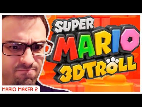 Super TROLL Maker 2 [Mario 3D World Troll Level :O]