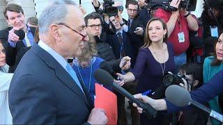 Schumer: Progress, No Deal After Trump Meeting