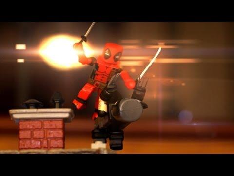 Deadpool vs Wolverine Stop Motion ᴴᴰ