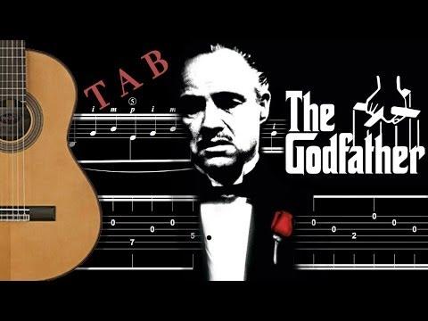 TUTO  GODFATHER  LE PARRAIN  tablature  FINGERSTYLE GUITAR