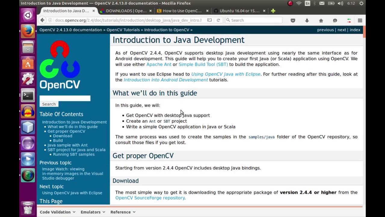 install opencv on ubuntu for java development in netbeans and eclipse