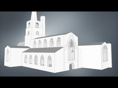 Burford Church: Two Minute Animated History