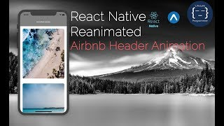 Gambar cover Airbnb Header Animation | React Native | Reanimated