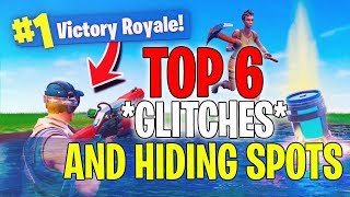 *NEW* GLITCHES AND HIDING SPOTS (Not Patched) -Fortnite Battle Royale