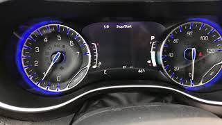 2018 Chrysler Pacifica Start up and look at