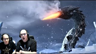 NEW MONSTERS! Reacting to Subnautica Below Zero Early Access Trailer!