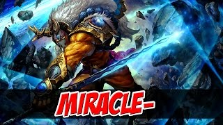 Miracle- Plays Juggernaut - Dota 2
