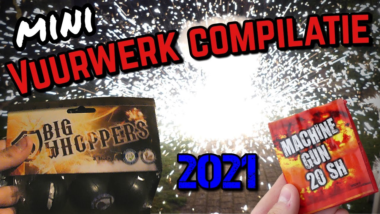 Mini Vuurwerk Compilatie 2021-2022