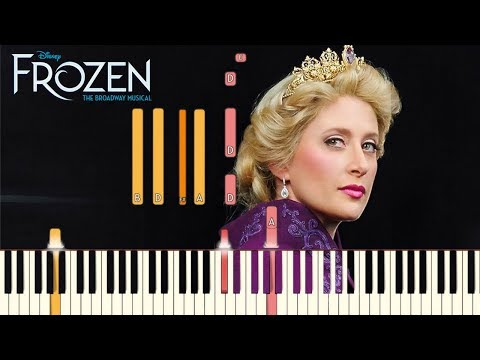 Monster - Frozen: The Broadway Musical [Piano Tutorial] (Synthesia)