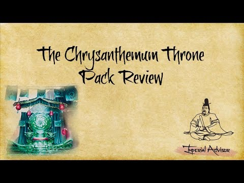 Imperial Advisor - Episode 17 Part 2: The Chrysanthemum Throne Pack Review