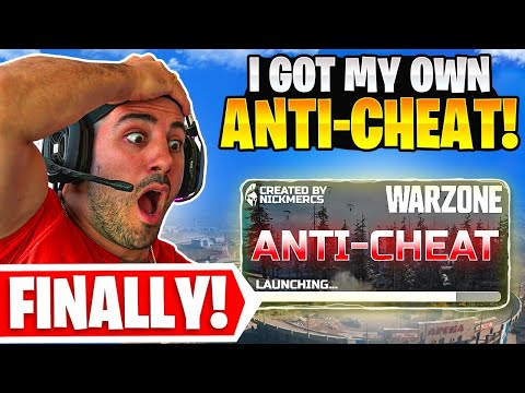 Warzone is SO BAD I Got My Own ANTI CHEAT! 😯