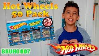Abrindo Hot Wheels 50 Car Pack