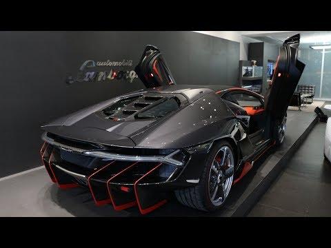 Conociendo a detalle el Lamborghini CENTENARIO en México