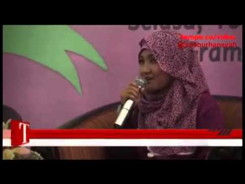 Fatin Shidqia on Tempo Dot Co Slash Video, 24 December 2013