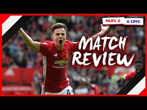 MAN UNITED 2-0 CRYSTAL PALACE | HARROP'S STUNNING GOAL IN VICTORY