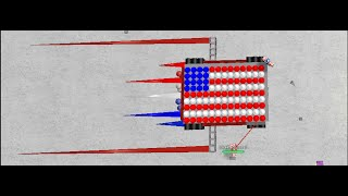 'MURICA MECH! - 4th of July Special - [ROBLOX] Build Your Own Mech