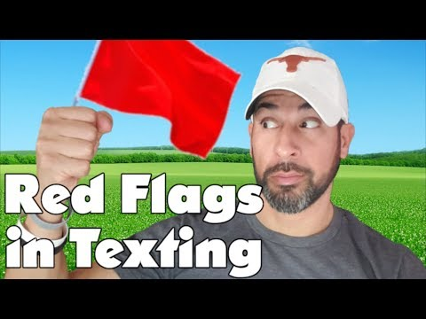 Online dating red flags texting and driving accidents