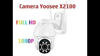Đánh giá chiếc camera giám sát ngoài trời chống nước xoay 360 độ Yoosee X2100