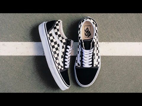 VANS CHECKERED OLD SKOOL REVIEW + ON FEET