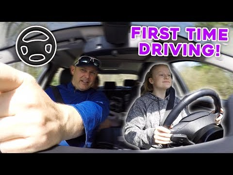 First time Driving!