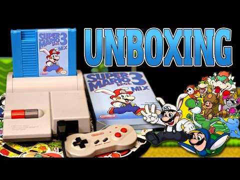 Super Mario Bros. 3 Mix Unboxing & Gameplay {Homebrew NES Rom Hack}