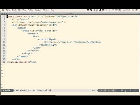 Creation & Reload Of UI5 UIs In The Chrome Developer Console