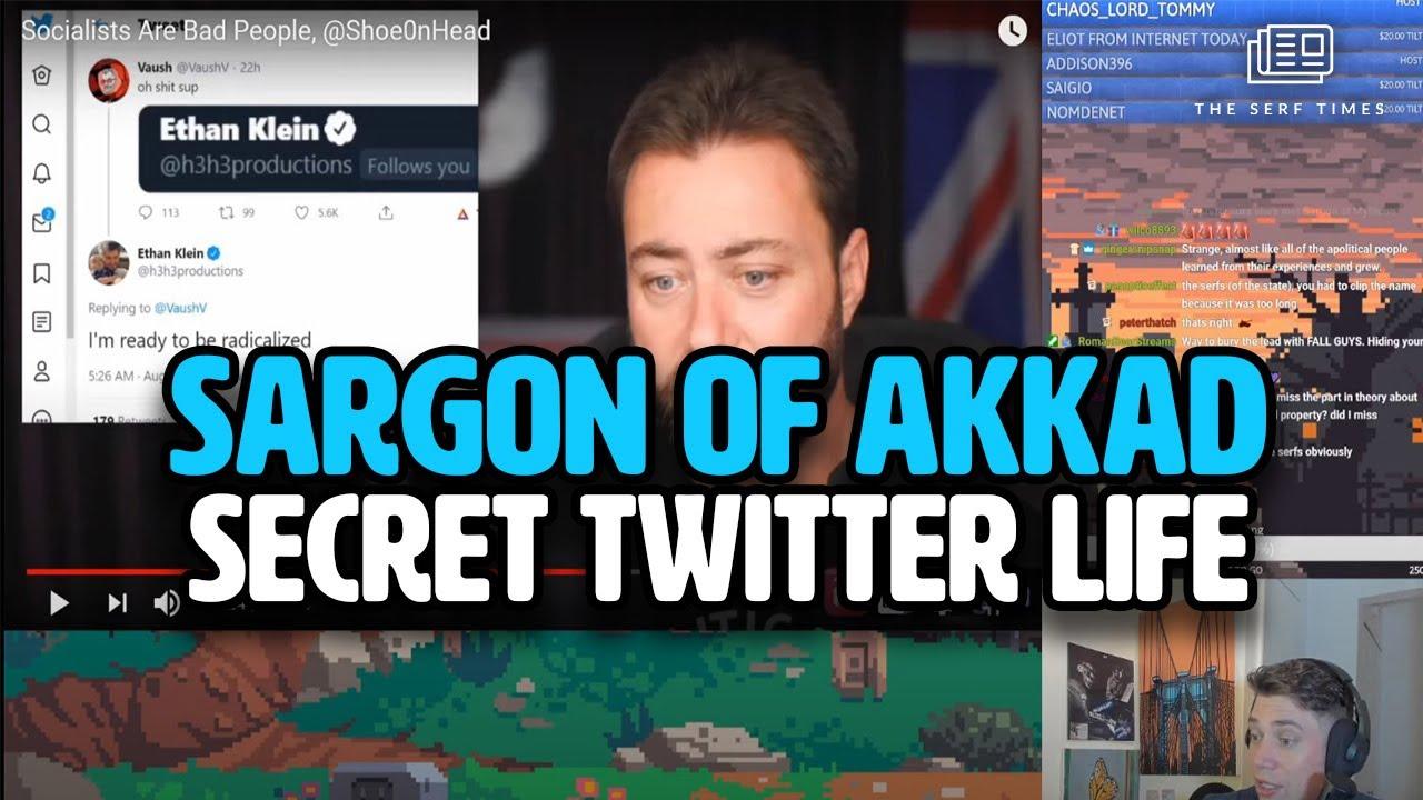 Sargon of Akkad's Secret Twitter an ethno nationalist love ...