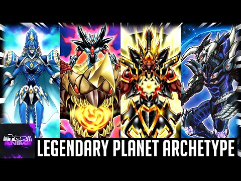 Yugioh Trivia: Legendary Planets Archetype