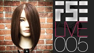 FSE LIVE #005 - Tonights Live Show Featuring How To Cut A Medium Length Bob with an undercut