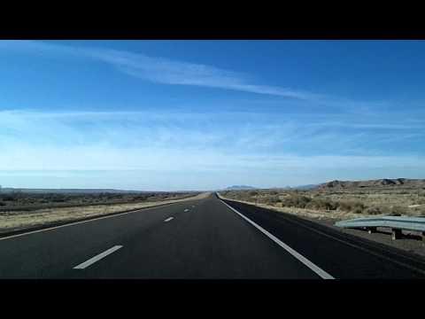 Albuquerque to Socorro, New Mexico Time Lapse Drive