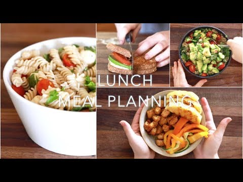 Easy Lunch Ideas #MealPlan