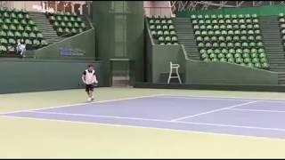 第71回兵庫県民体育大会テニス競技の原田選手 原田夏希 動画 23