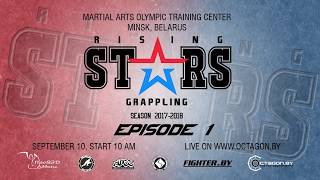 RISING STARS EPISODE 1 / ADCC GRAPPLING / PREVIEW