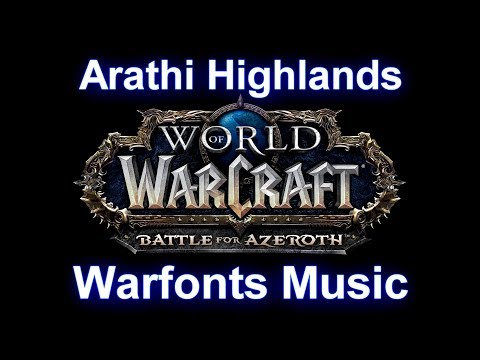 Stormagarde Warfront Music | Arathi Highlands Warfronts Music (Complete) - Battle for Azeroth Music
