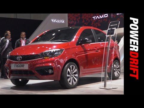 Tata Tigor : Geneva Motor Show : PowerDrift