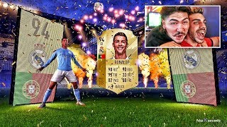 ME SALE RONALDO IN A PACK - FIFA 18 !!!!