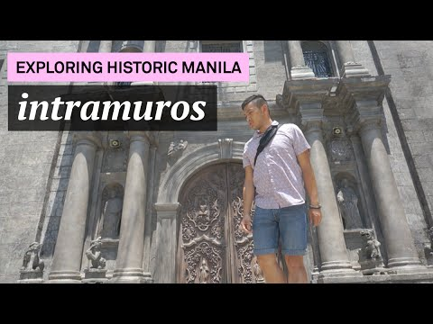 Exploring Historical Manila, Intramuros! (Day 12 AsianInvasion2016) - ohitsROME vlogs