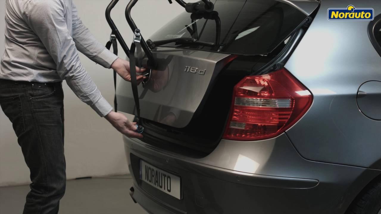 porte velo de coffre suspendu norauto norbike1 pour 1 velo disponible sur norauto fr