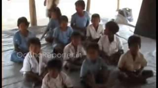 Dilapidated condition of Gandhinagar primary project school in Bhadrak