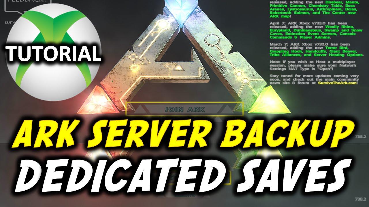 Ark Backup Save