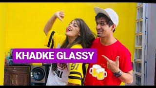 Khadke Glassy Jabariya Jodi dance cover Vicky & Aakanksha
